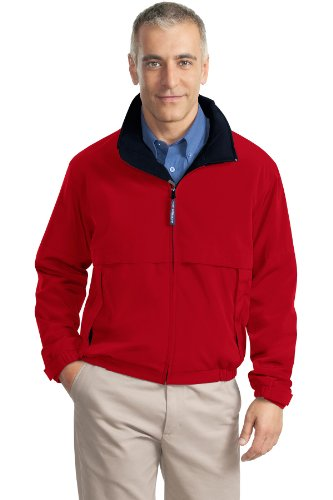 Port Authority J764 Legacy - Chaqueta Red/Dark Navy XXX-Large