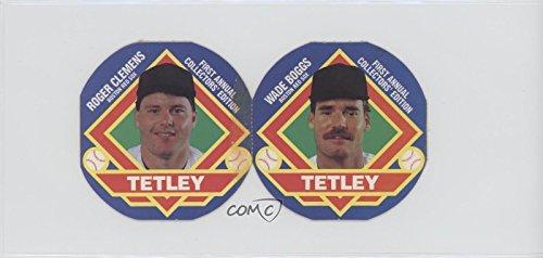 Amazoncom Wade Boggs Roger Clemens Baseball Card 1988