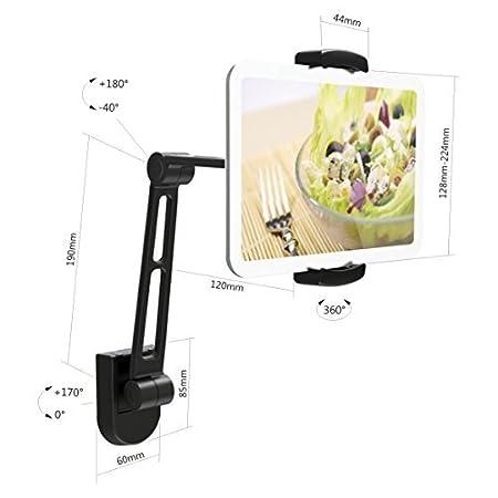 surface IBRA Samsung Galaxy et plus 4.7-12.9 comprim/és de PC b/âti dappui-t/ête de voiture avec la rotation de 360 degr/és pour iPad Air // Pro Support de voiture diPad