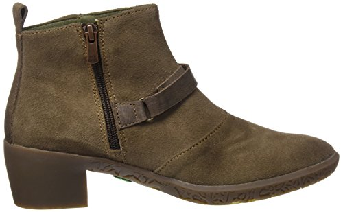 El Naturalista Ng16 Lux Suede-Pleasant Alhambra, Stivaletti Donna Verde (Land)