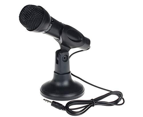 DICPOLIA Speakers for Desktop PC Microphone,Fifine Plug &Play