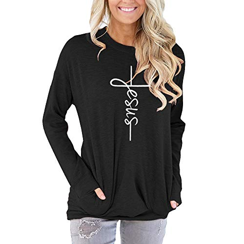 (Faith Women's Clothing Women's Hoodie Burnout Long Sleeves Fashionable)