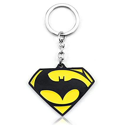 TUDUDU Batman Superman Dawn of Justice Enamel Metal Llavero ...