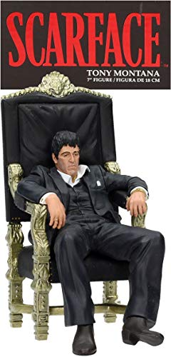"SD toys Movie Icons Scarface: Tony Montana Throne 7"" Figure"