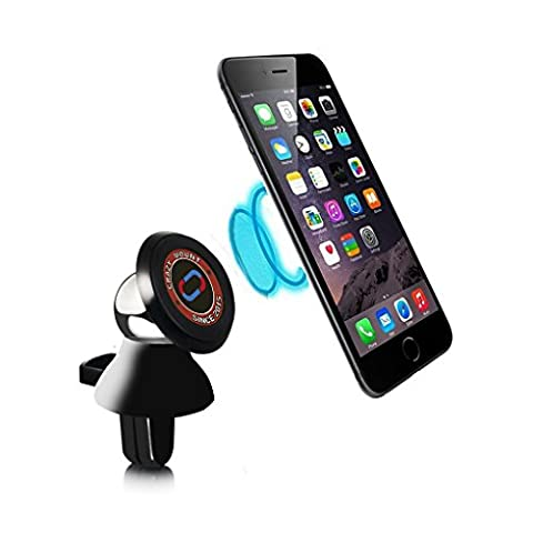 Nochoice Car Mount Magnetic Air Vent Mount Holder For iPhone se/ 6s / 6 plus /5s ipad Samsung Galaxy s6 / s5 / s4 / s3 Galaxy Note /3 /4 (Air Cleaner Mount)