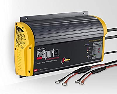 ProMariner ProSport 20 Heavy Duty On-Board Marine Battery Charger 20 Amp 2 Bank Electronics Accessories