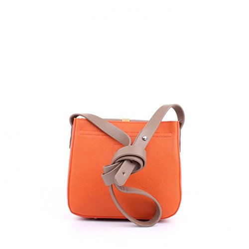 La martina - La martina - Shoulder bag caballito ltb63 beige/orange - TU, Cuoio/arancione