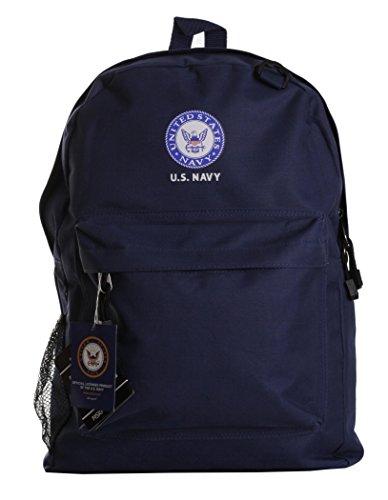 State Logo Backpack (U.S. Navy Official Licensed Blue Backpack)