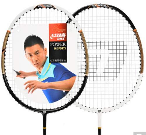 VIWIV VIWIV VIWIV Badminton Racket 2 Sticks, Iron Alloy Shockproof, Ball-Controlled Couple Double Shot Applicable Amateur Player Outdoor Club Sports Outdoor Fitness Fun Games, Etc. B07NXY6LS4 Badminton Ausgezeichnet d39e1d