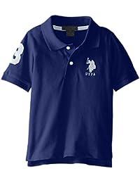 Boys' Solid Short Sleeve Polo Shirt