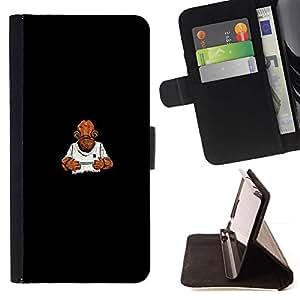 Momo Phone Case / Flip Funda de Cuero Case Cover - Es una trampa - Gracioso - Sony Xperia Z3 D6603