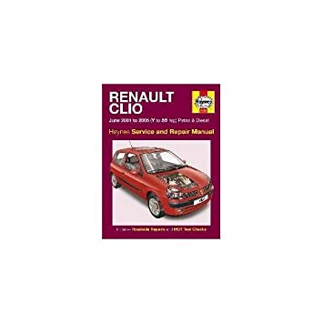 haynes manual renault clio petrol diesel june 2001 2005 rh amazon co uk clio sport workshop manual clio sport workshop manual