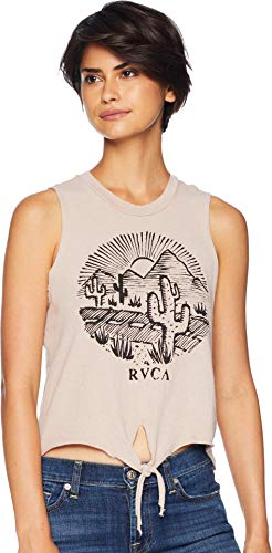RVCA Junior's Cactus Road Tank, Pavement, XS ()
