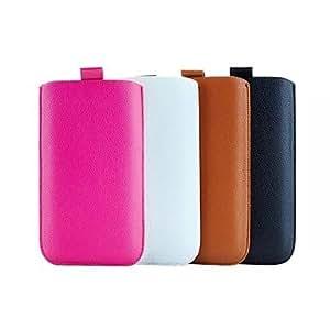 PG iPhone 6 Plus compatible Solid Color Pouches(Black)