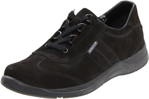 Mephisto Women's Laser Lace-Up,Black Nubuck,9 M US