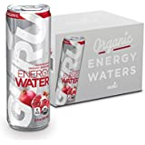 GURU Sparkling Water with Green Tea Infusion, Sugar Free, Zero Calorie, Natural Energy Drink, Pomegranate, 12-Ounce (Pack of 12)