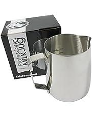 Rhino Coffee Gear Non-Stick Milk Jug, 20oz, Silver