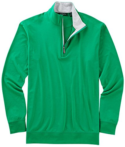 Bobby Jones Liquid Cotton Stretch Golf Pullover - Men's 1/4 Zip Pullover Golf Apparel