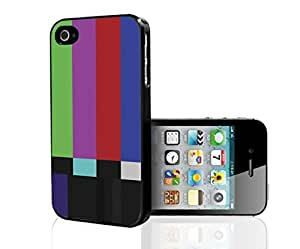 Old Television Color Test Pattern Hard Snap on Phone Case (iPhone 5/5s)