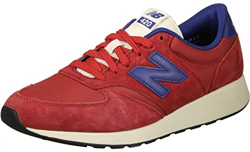 New Balance Herren Buty 420 RE-Engineered Suede Zehenkappen Red/Blue
