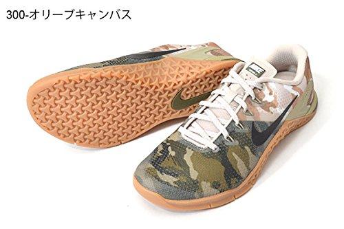 Scarpe Uomo Metcon Nike 4 Gum Ginnastica Canvas Olive White Bro Verde da 300 Med wfxwXq