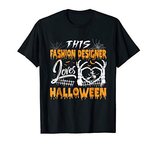 This FASHION DESIGNER Loves Gift Halloween Costume Tshirt