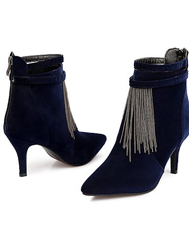 Dark Vellón Tacón eu42 Marino 5 cn43 uk8 Blue Botines Mujer azul uk8 casual Oklop Botas De 5 5 puntiagudos Blue marrón Vestido 5 cn43 Xzz zapatos Uk6 us10 Cn39 Negro Eu39 us8 Stiletto us10 eu42 Blue pZqWPWaIw