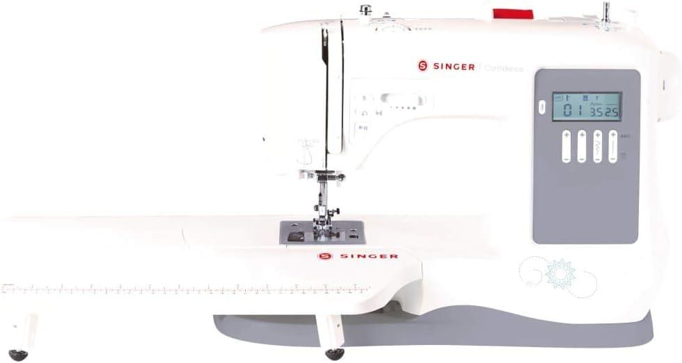 Singer Máquina Coser Confidence Blanca Electrodoméstico Costura Tejer Remendar