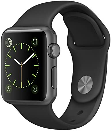 Apple Watch Sport 38mm MJ2X2J/A MJ2X2JA ブラックスポーツバンド