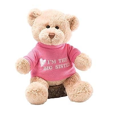 GUND I'm The Big Sister T-Shirt Teddy Bear Stuffed Animal Plush