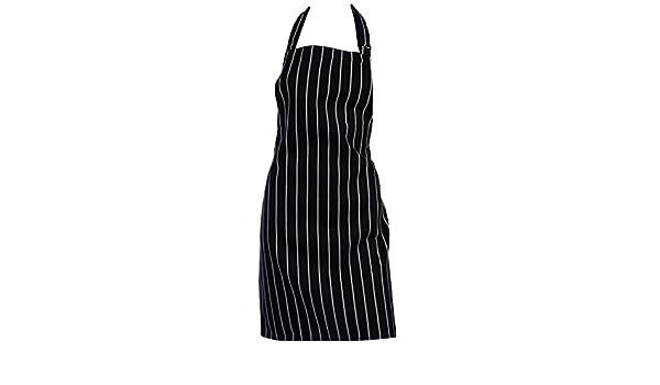Kids Navy Butchers Apron Craft Cooking School Pinny Adjustable Neck 78cm x 51cm
