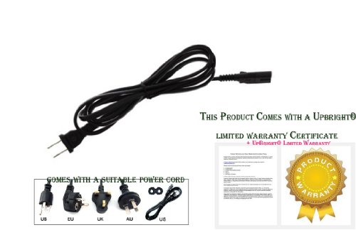 UpBright NEW 2-Pin Flat Figure 8 AC Power Cord Cable Plug For Bose Lifestyle Subwoofer PS18 PS28 PS38 PS48 III Powered Speaker System