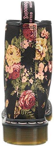 victorian Noir Femme W Martens 1460 Flowers Boots Dr xnZ8FWW