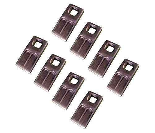 (8 - Square Hole Replacement Auger Tooth - SQ-58F, SQ-58, SQ58, AT-5)