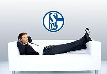 Wall-Art - Wandtattoo, Aufkleber - Schalke 04 Logo - 40 cm ...