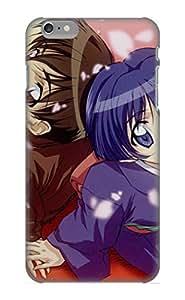 Christmas Gift - Tpu Case Cover For Iphone 6 Plus Strong Protect Case - Anime Ai Yori Aoshi Aoi Sakuraba Kaoru Hanabishi Design