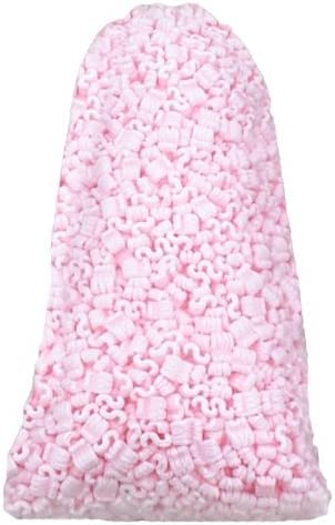 1 Bag Pink Antistatic Loose Fill Shipping Packing Peanuts