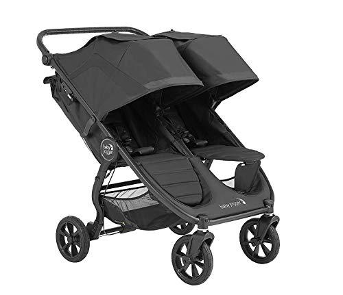 41XfLv5aZtL - Baby Jogger City Mini GT2 Double Stroller, Jet