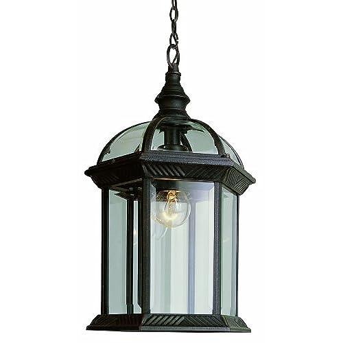 lantern style lighting. Trans Globe Lighting 4183 BK Outdoor Wentworth 17.5\ Lantern Style