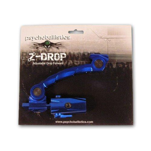 Large HPA Psychoballistics Z Drop Forward Paintball Gun Bottomline Tank Bottle Cradle 114 88 ci cu BLUE