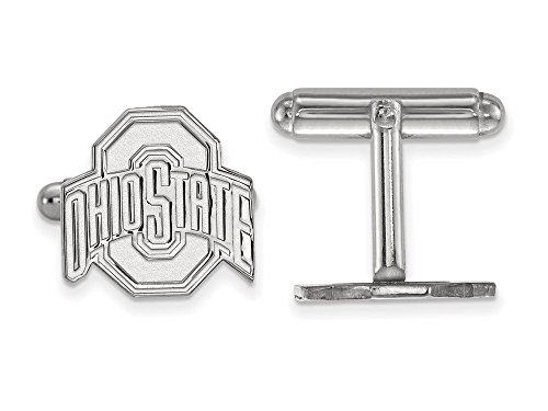 Ohio State Cuff Links (Sterling Silver)
