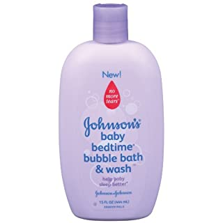 Johnson's Bedtime Baby Bubble Bath And Wash, 15.0 Fl. Oz (Pack of 3)