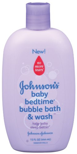 Johnson's Bedtime Baby Bubble Bath And Wash, 15.0 Fl. Oz (Pack of 3) Johnson & Johnson B0036B8S0Y