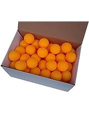 Der Sportler GmbH 75 tafeltennisballen 38 mm zonder opdruk oranje stevig materiaal