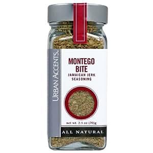 Urban Accents Montego Bite (Jamaican Seasoning) 2.5oz (Pack of 6)