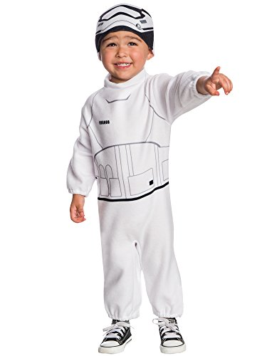 [Rubie's Costume Boys Star Wars VII: The Force Awakens Stormtrooper Costume, Multicolor, 4T] (Authentic Stormtrooper Costume For Sale)
