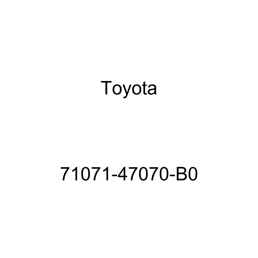 TOYOTA Genuine 71071-47070-B0 Seat Cushion Cover