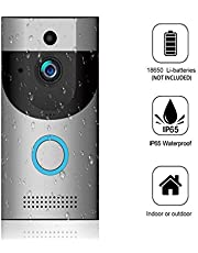 Wall Plug-in Doorbell Chime Only for CozyHouse. IP65 WiFi Doorbell with LED Flash and 300 Meters Operating Range, 52 Chimes and 4-Level Volume, White