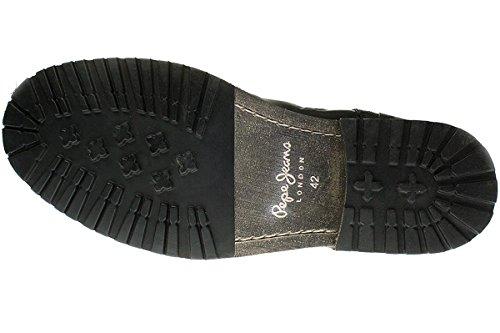 Pepe Jeans London Melting Med - Herren Schuhe Boots - PMS50115-999-black