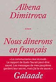 Nous dînerons en français par Albena Dimitrova